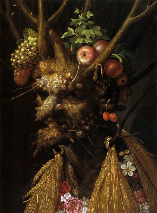 Giuseppe Arcimboldo The Four Seasons in one Head WGA00820