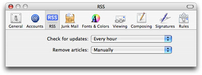 Apple Mail RSS